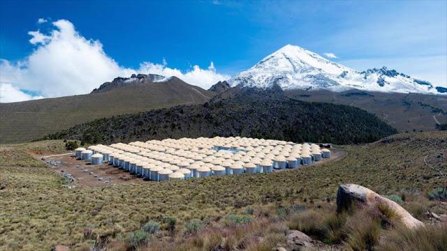 Revelan inusual origen de la antimateria desde un volcán mexicano