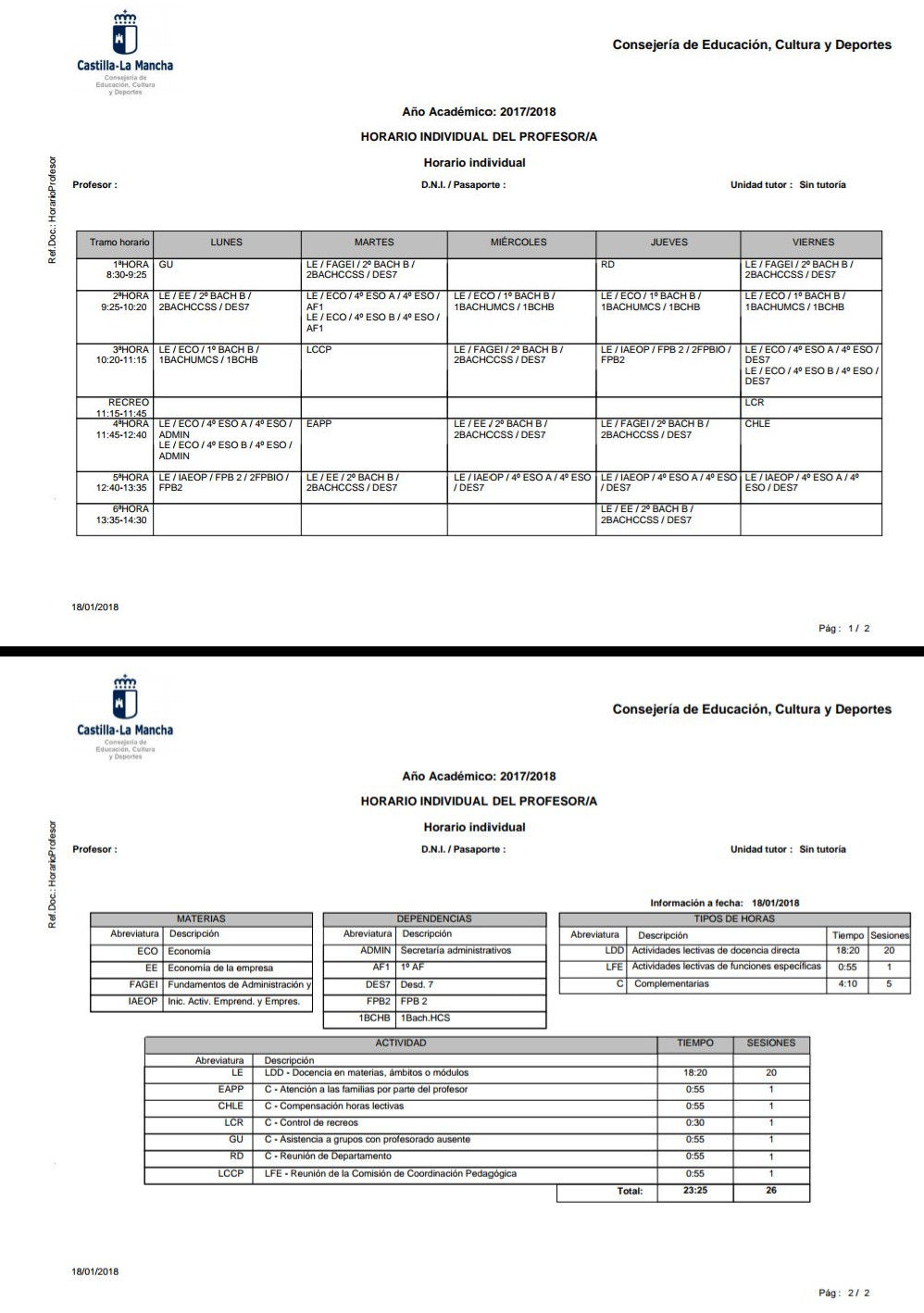 Calendario Escolar Madrid 202018.Horarios Secundaria Madrid Vs Resto Ccaa