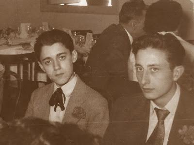 ajedrecistas Antoni Puget y Josep Monedero