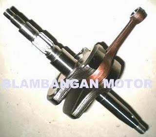 Sparepart motor : kruk as Yamaha Crypton