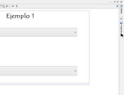 seleccionamos el JCombobox  y elegimos la opcion properties