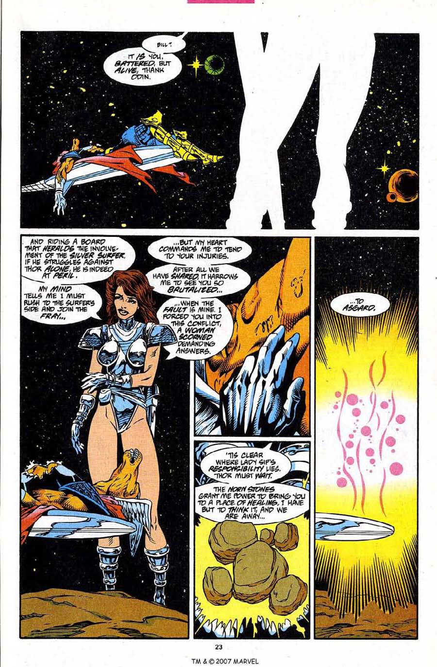 Read online Silver Surfer (1987) comic -  Issue #86 - 25