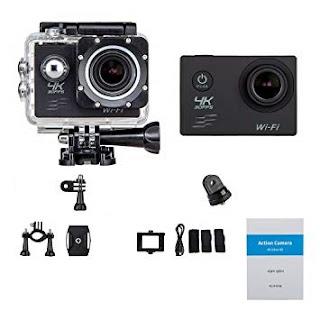 action cam wifi 4k sport camera