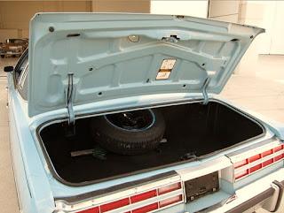 1975 Pontiac Grand Ville Baggage