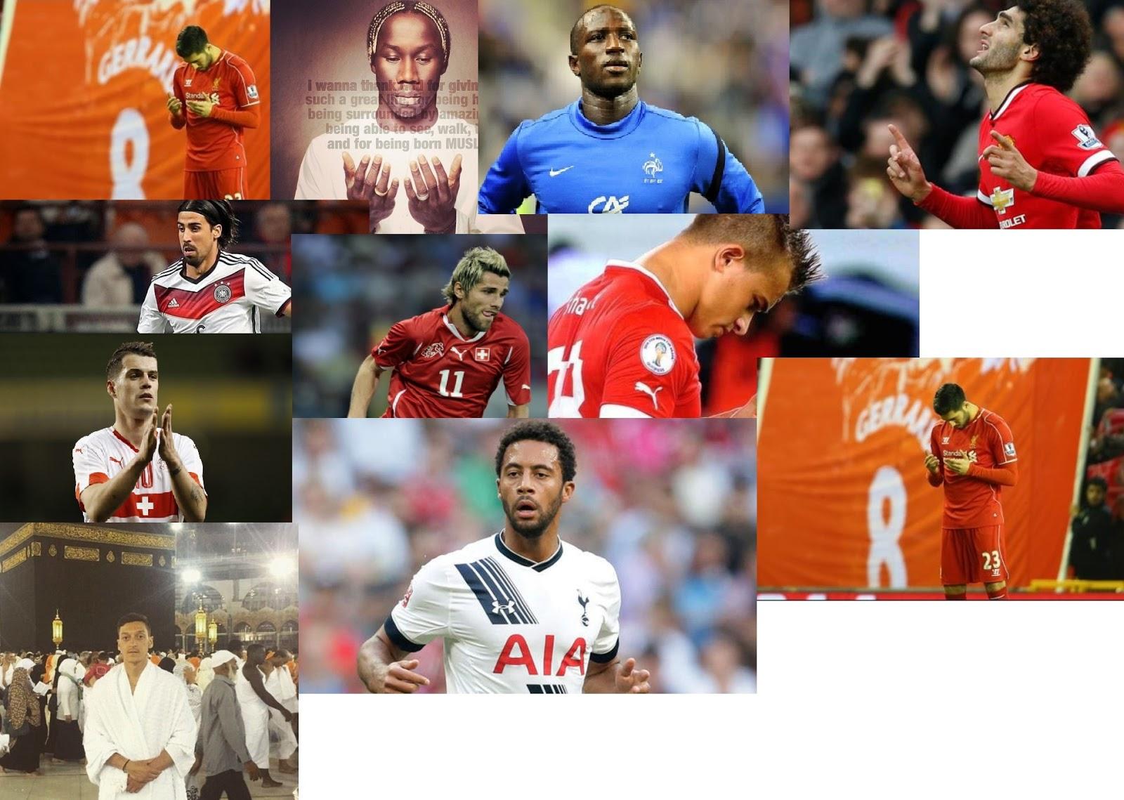 Inilah Dia 10 Pemain Sepakbola Muslim Yang Akan Berlaga Di