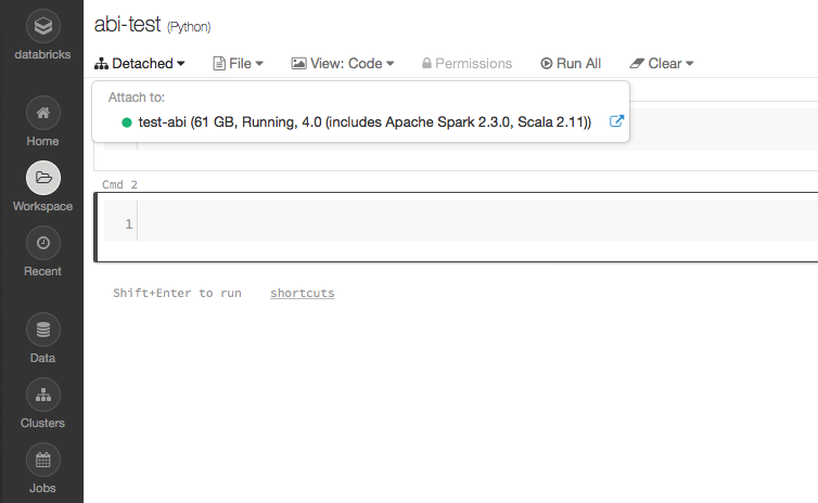 AWS/Azure(Cloud)/Spark/Hadoop / Linux : Databricks