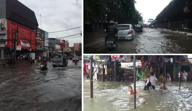 Polda Metro Jaya: Jakarta Banjir