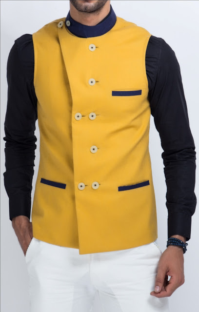 Double Breasted Nehru Jacket