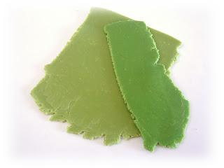 Faux Jade polymer clay colour mixes