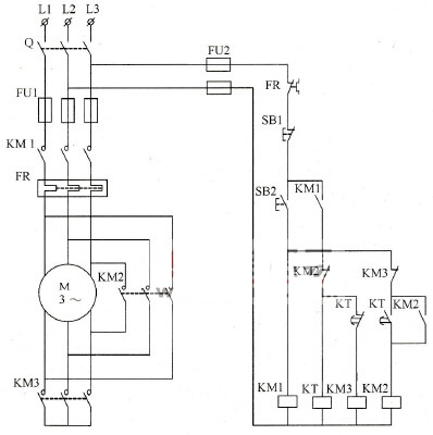 How to use plc control motor starting voltage ladder diagram plc y buck start control schematic diagram ccuart Images