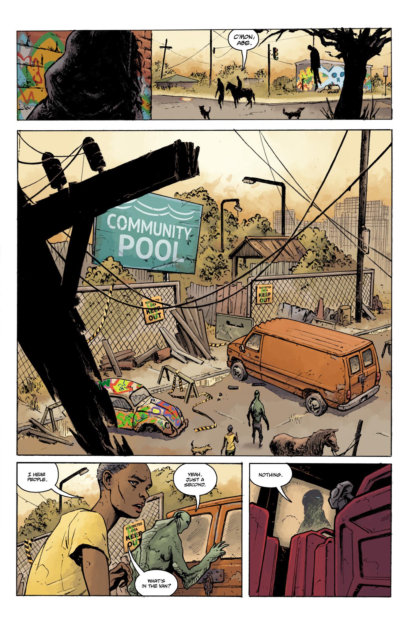 Read online Abe Sapien comic -  Issue #16 - 7