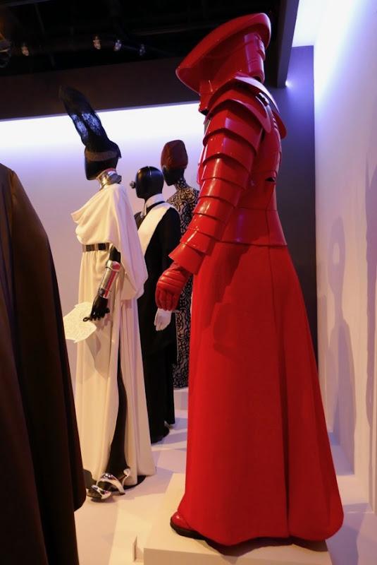 red Praetorian Guard costume Star Wars Last Jedi
