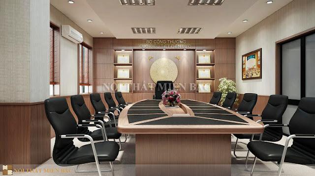 Bàn phòng họp veneer lựa chọn số 1 cho thiết kế phòng họp cao cấp - H2