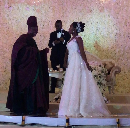 Watch Governor Amosuns Emotional Father And Son Wedding Dance Kemi Filani Blog