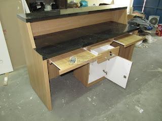 Meja Customer Service furniture semarang
