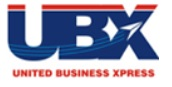 UBX Courier logo