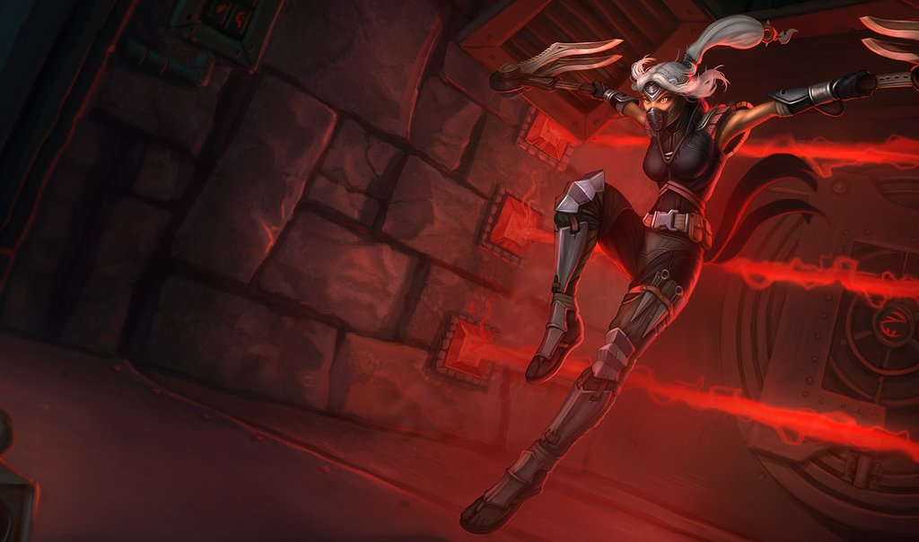 Wallpaper Silver Fang: League Of Legends Silverfang Akali And Imperial