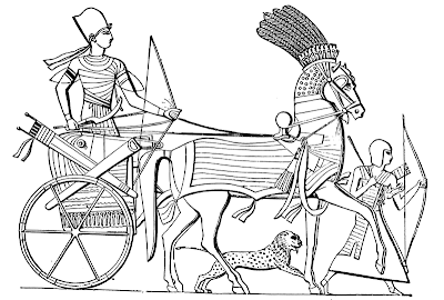 An Egyptian Chariot by Joseph Bonomi