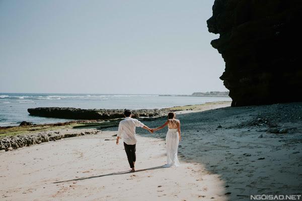 Chiêm ngưỡng bộ ảnh cưới thơ mộng trên đảo Lý Sơn - Hình 1