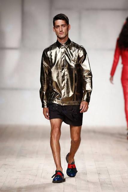 Jaqueta Masculina Metalizada