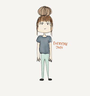 Messy Bun - Drawing - Everyday Joey