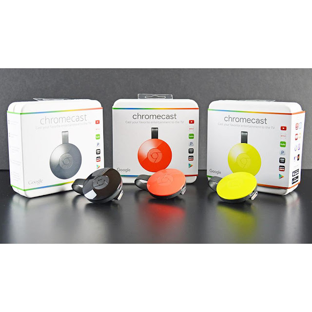 O Google Chromecast é um dispositivo de streaming de mídia que é conectado à porta HDMI da sua TV