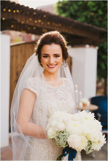 Elegant Bridal Look by Studio mm&b // Photo by Closer to Love Photography via @thesocalbride