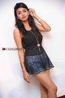 Kannada Actress Shama Taj in Denim Shorts at Engineers Movie Press Meet  0002.jpg