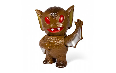 """Cocoa Brown"" Bat Boy Vinyl Figure by Super7"