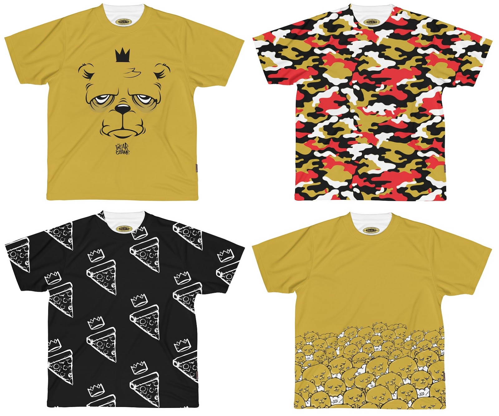 44d4a8d72e9 The Blot Says...  The Bear Champ Limited Edition T-Shirt Collection ...