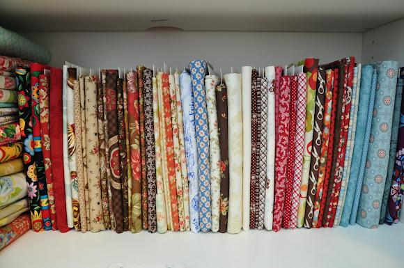 Fabric Shelves