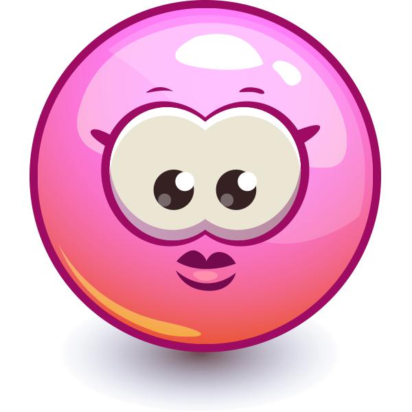 Pink Emoji