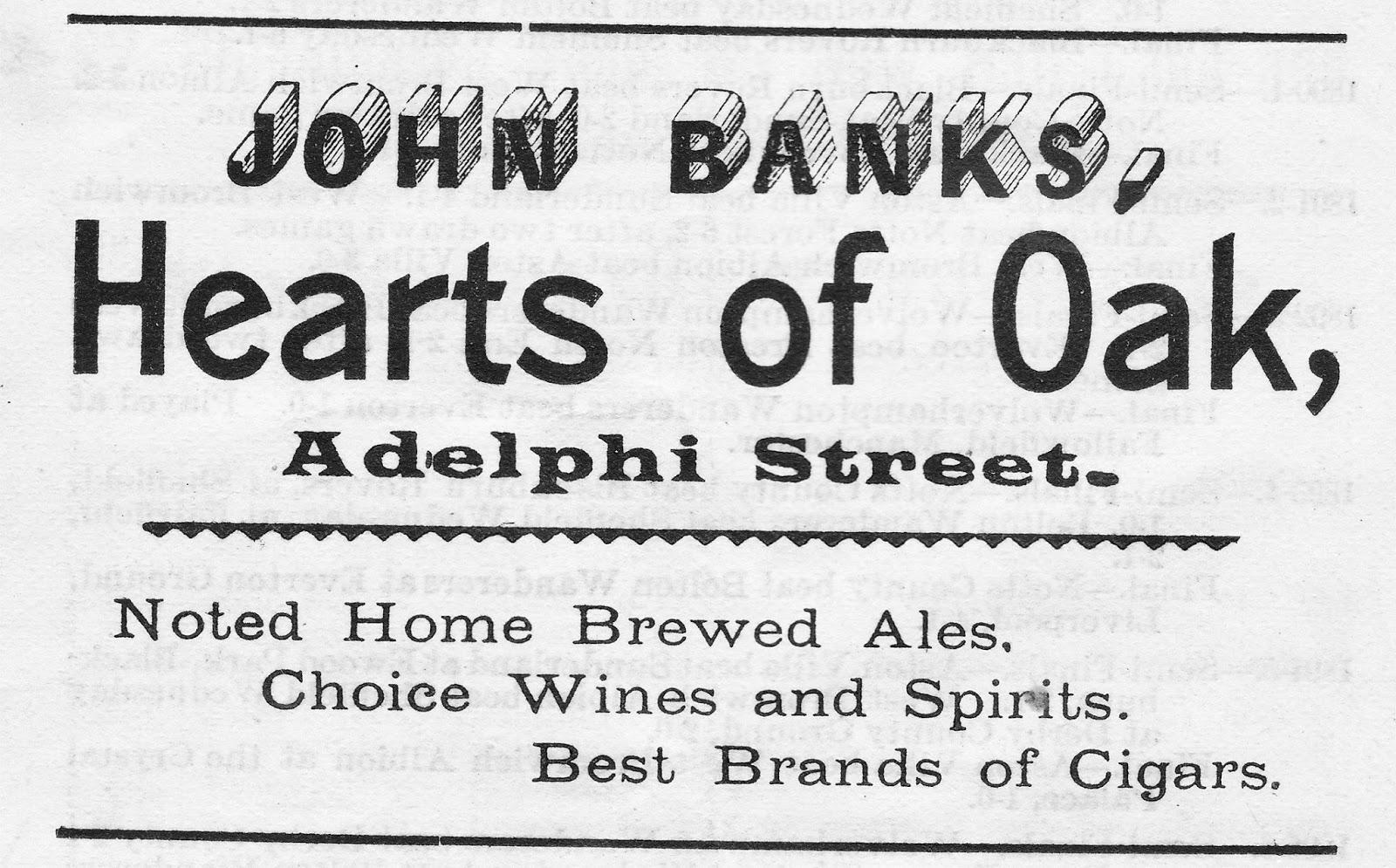 PRESTON'S INNS, TAVERNS and BEERHOUSES: HEARTS OF OAK
