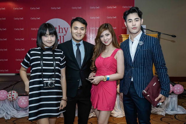 A photo of Cathy Doll Philippines Grand Launch with Kimberly Arcillas