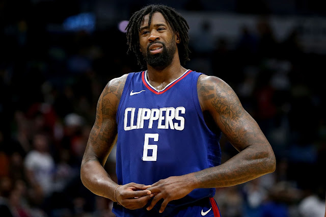 Blazers, Clippers membahas perdagangan DeAndre Jordan