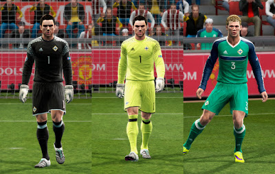 PES 2013 Northern Ireland GDB Euro 16 UPDATE by ABIEL