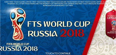 FTS Mod WORLD CUP RUSSIA 2018 Apk + Obb Data by ZenM Terbaru