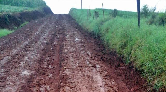 Se nem a manutenção é realizada, o asfalto será real?