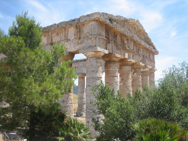 Ruinas del Templo griego de Segesta