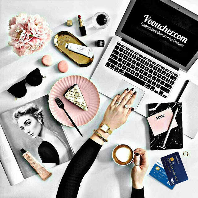 cupones para compras online Vooucher