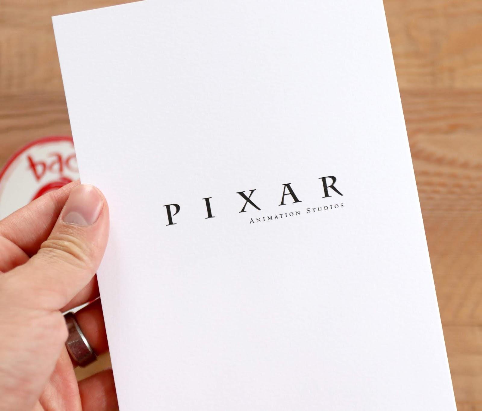 pixar bao notecard