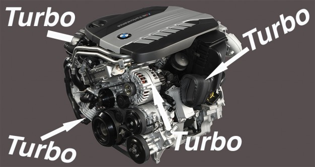 Upcoming BMW Diesel Engine Will Have 4 Turbos! | Car guy's paradise