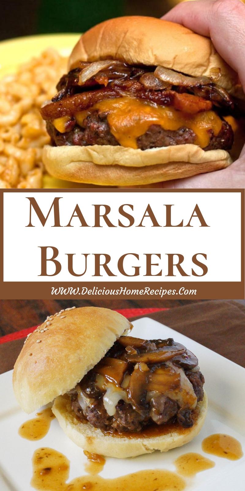 Marsala Burgers