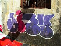 Tag by graffiti artist Zine