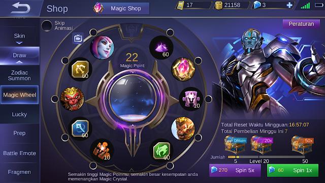 Tutorial Mendapatkan Skin Legend Gratis Mobile Legends 2