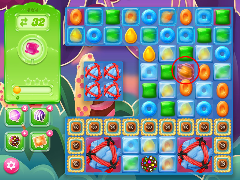 Candy Crush Jelly Saga level 564