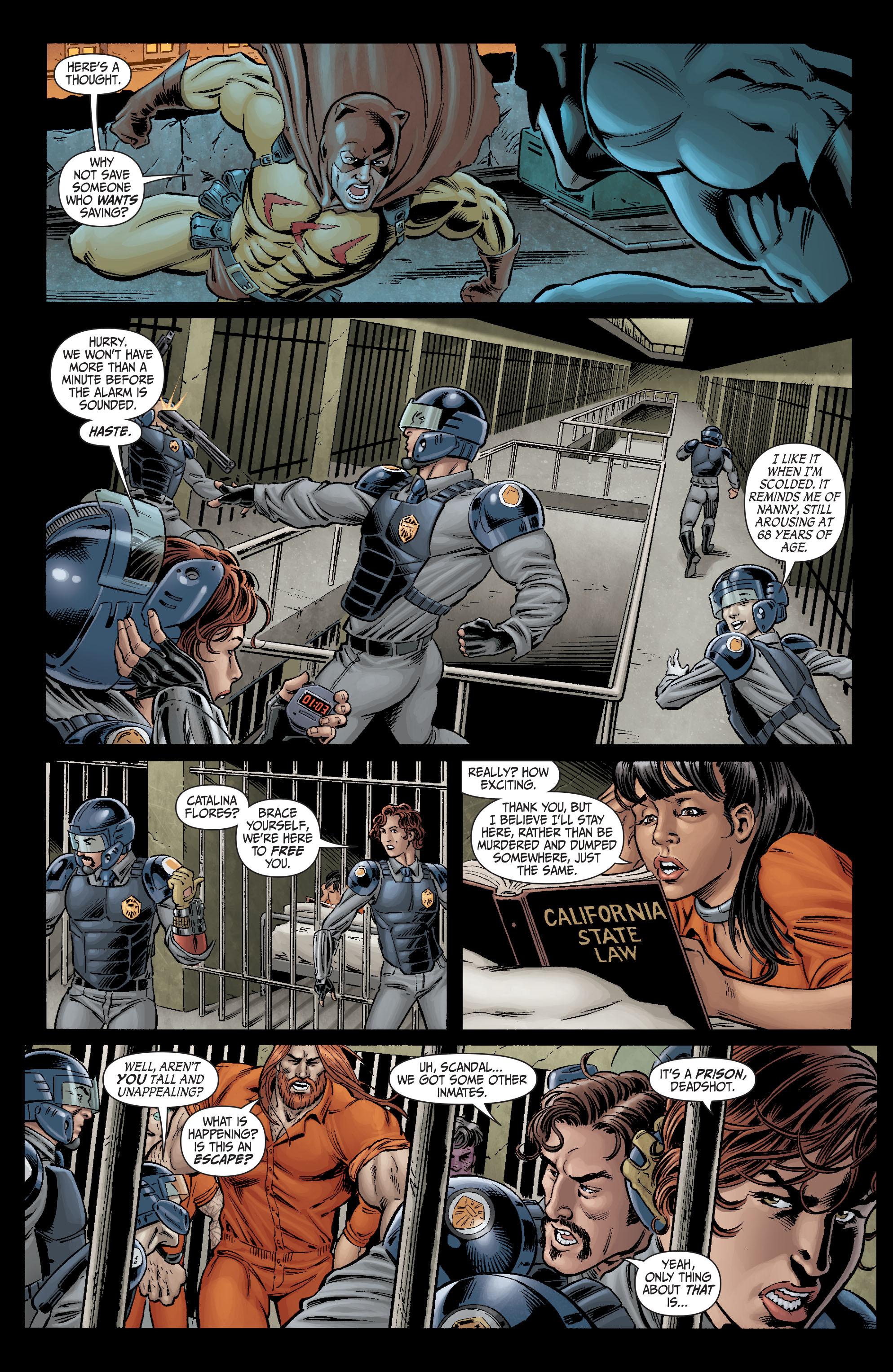 Read online Secret Six (2008) comic -  Issue #2 - 15
