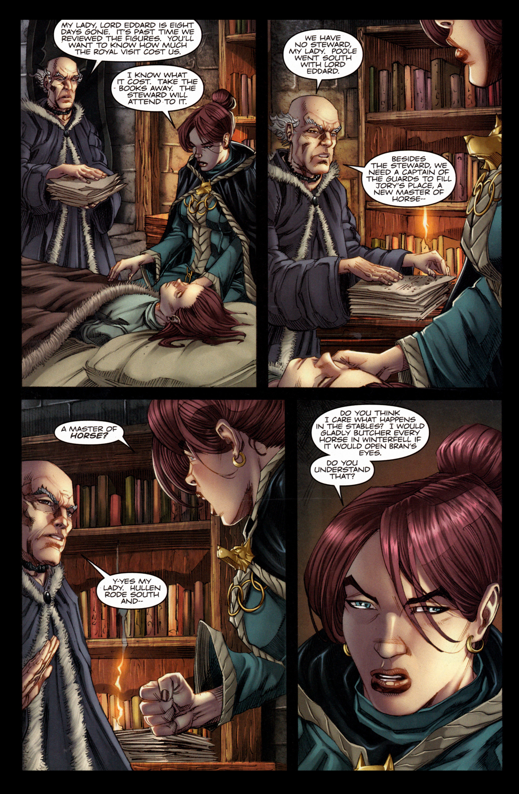 Read online A Game Of Thrones comic -  Issue #4 - 20