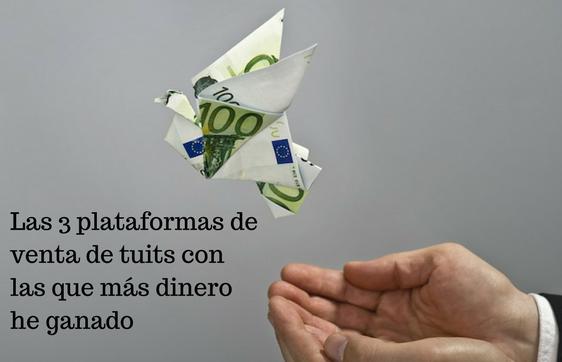 Plataformas, dinero, twitter, tuits, monetización