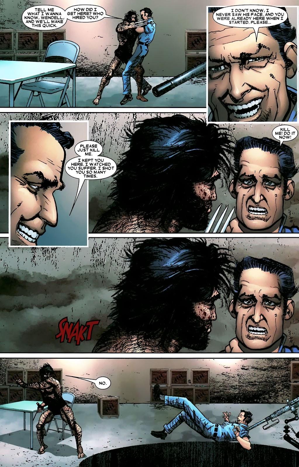 Read online Wolverine (2003) comic -  Issue #56 - 33